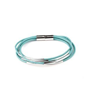 NWT Power Cord Blue Magnetic Bracelet